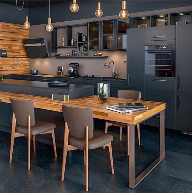 Epingle Par Annesophie Lemmel Sur Ilot Cuisine Cuisine Moderne Cuisine Appartement Cuisine Design Moderne