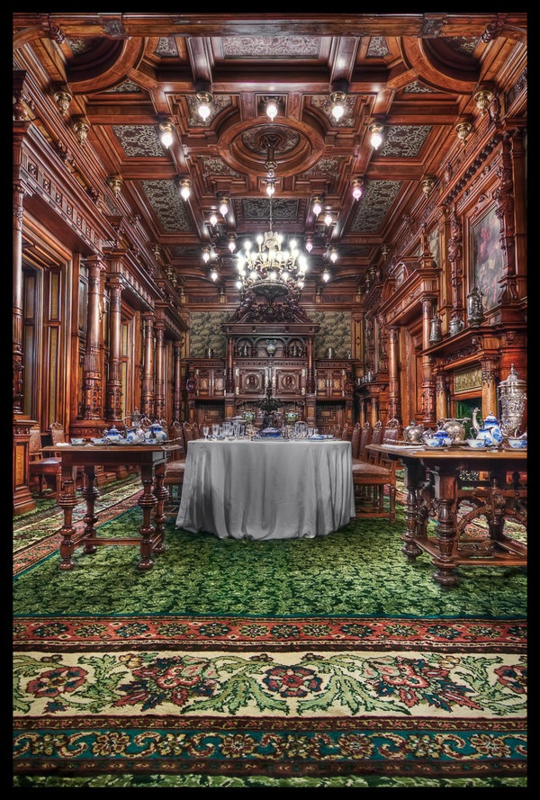 Inside the Peles Castle by ~lesogard on deviantART