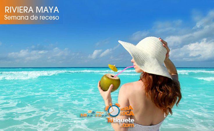 Aprovecha la semana de receso de Octubre en Riviera Maya desde USD 1.540 -->Conoce la promoción http://goo.gl/Xcqixx