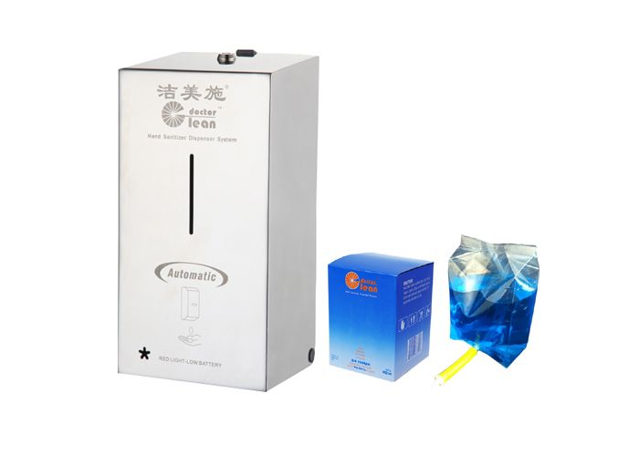 800ml Stainless Steel Automatic Soap Sanitizer Disinfection