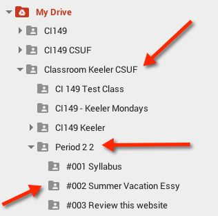 Google Classroom: Assignment Naming Conventions by Alice Keeler