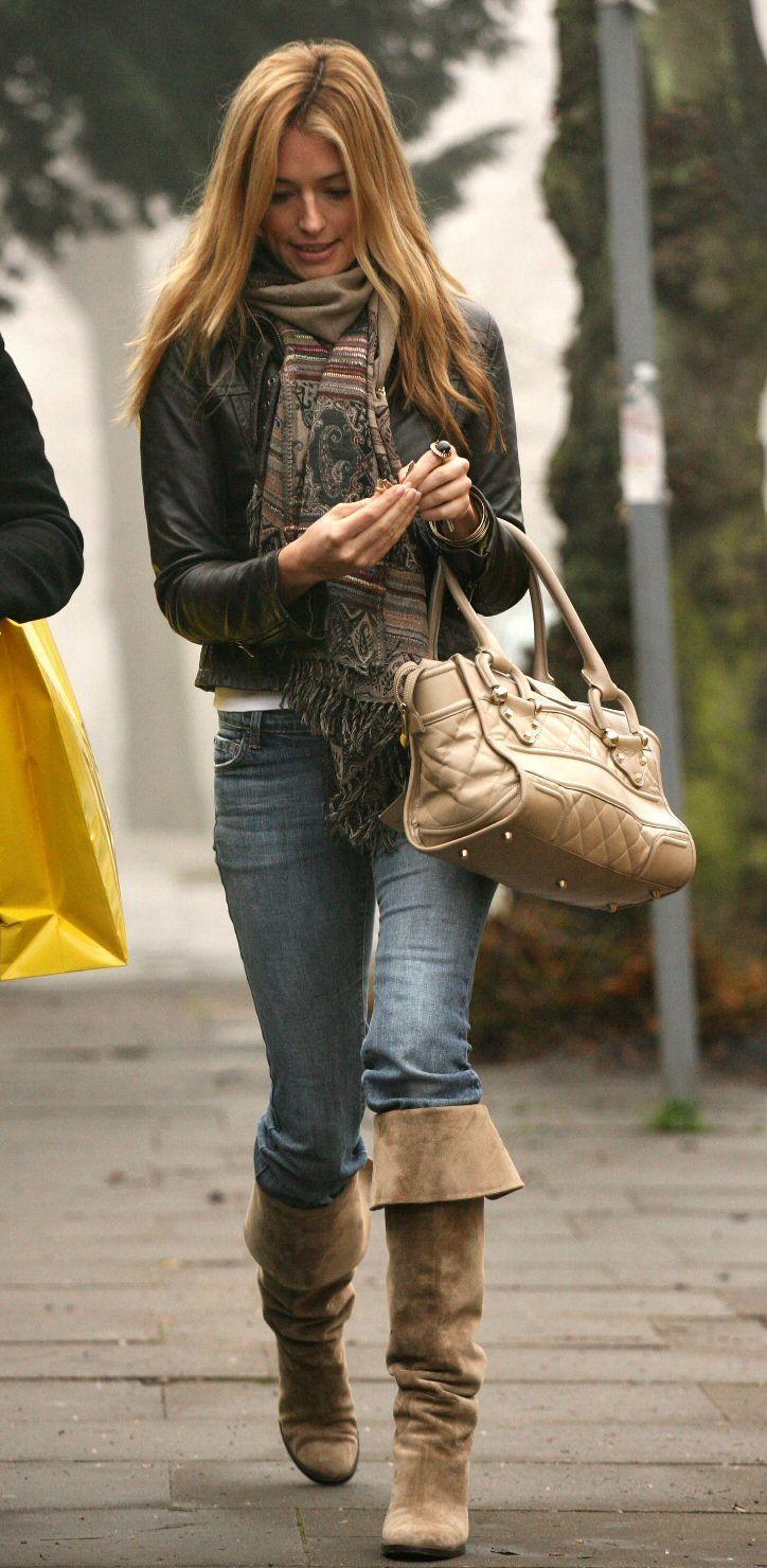 Cat Deeley Style Trend Boots Cat deeley, High heel