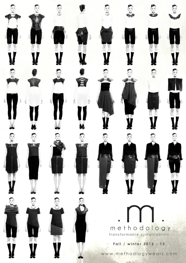 methodology AW12 -- transformable sustainability (all styles)