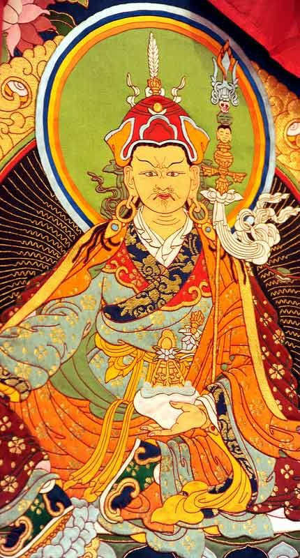 Tibetan Thangka of Padmasambhava Hemis Festival ladakh