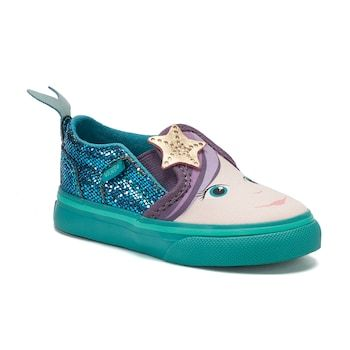 Vans Asher Mermaid Toddler Girls  Skate Shoes  a1c41b486