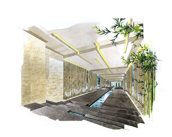 Rate:Color Perspective A3 Price Is 500 650 USD 22handmade@gmail.com. Plan  DrawingSketch DrawingInterior Design ...