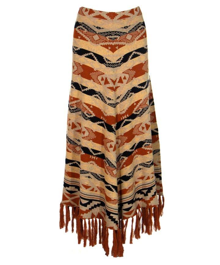 Tasha Polizzi Azteca Blanket Skirt at Maverick Western Wear