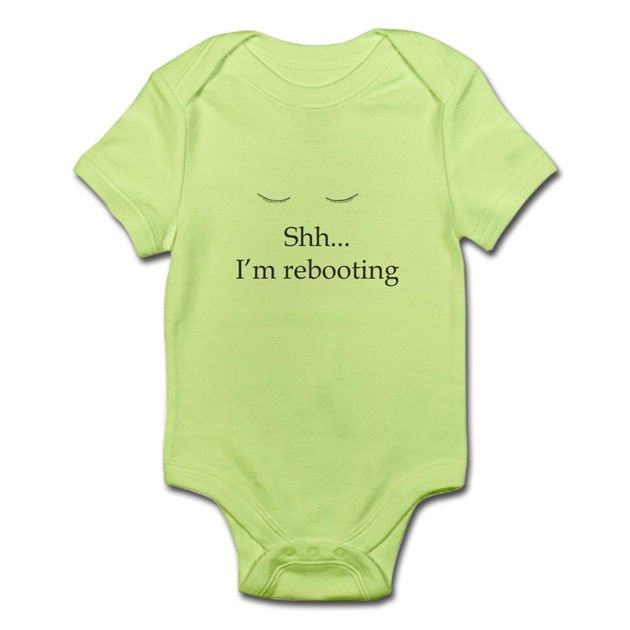Very cute for your baby, all that growth they're going through, when they go to sleep, it's like a computer rebooting