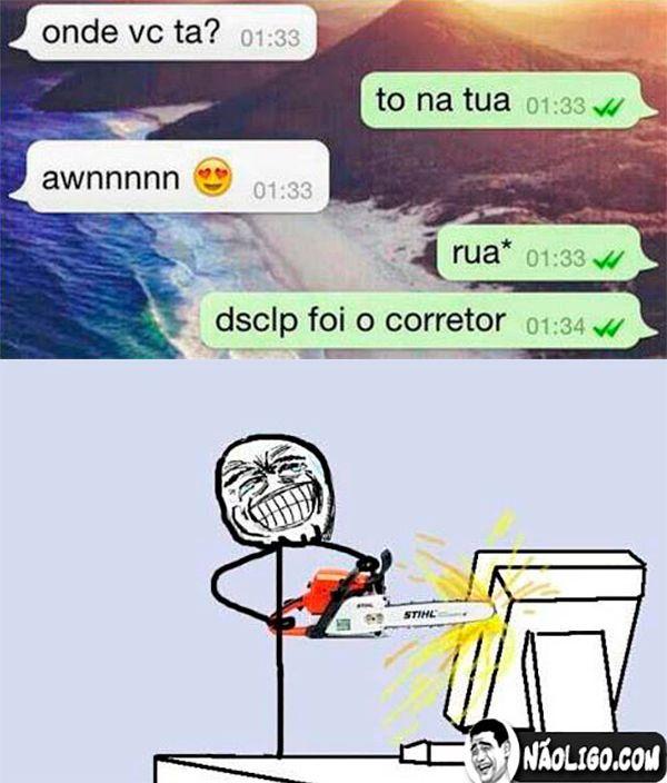 Maldito #corretor #ortográfico #Humor