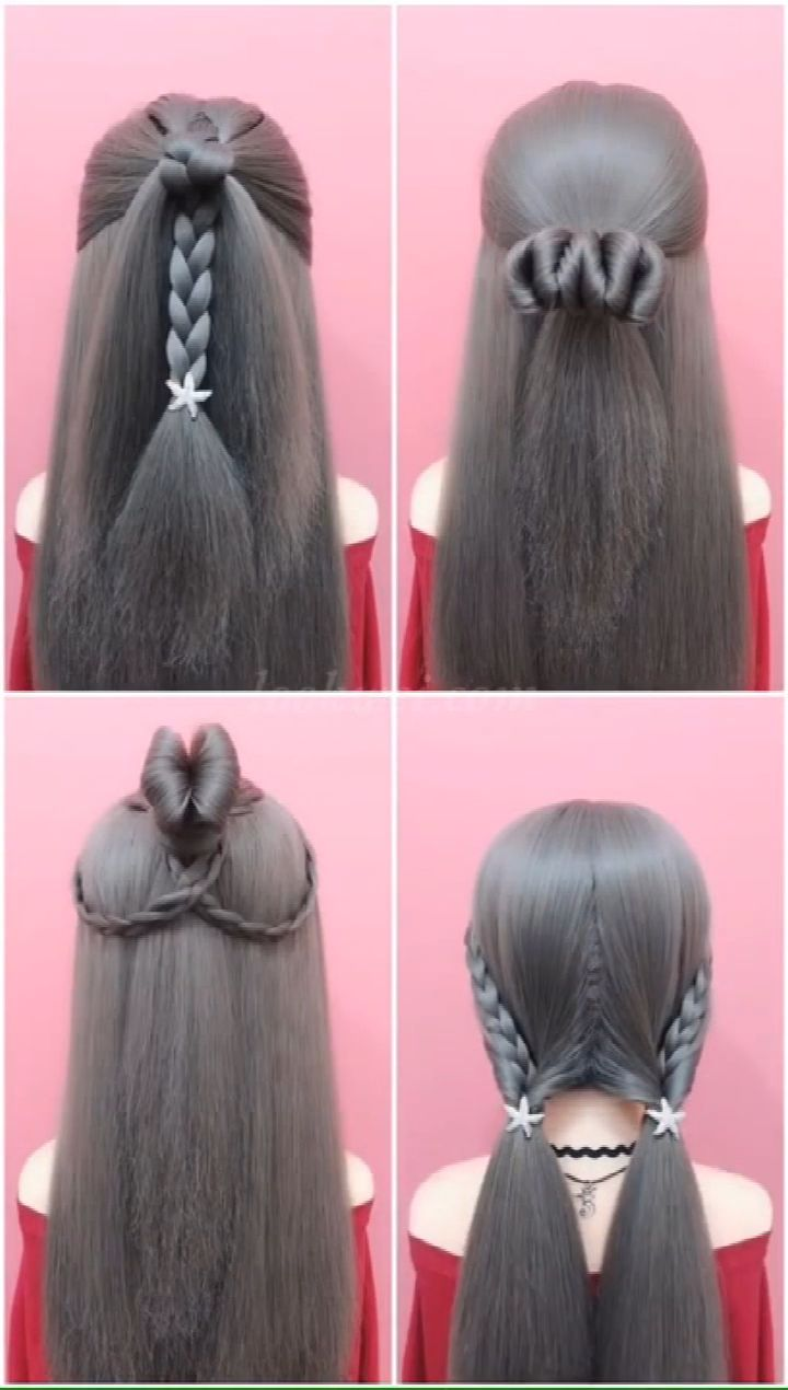 Four outdoor Hairstyles video ideas