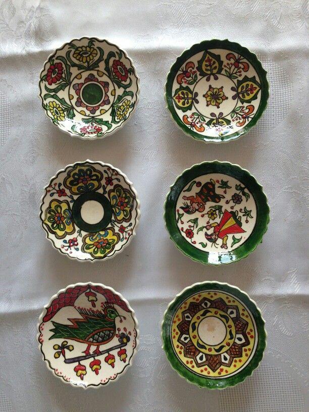 6'lı çay tabağı