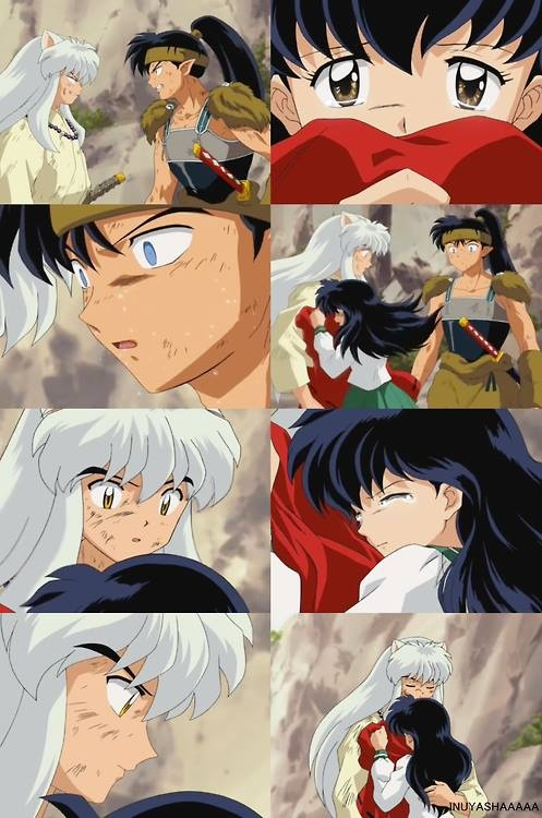 koga and kagome first meet quotes