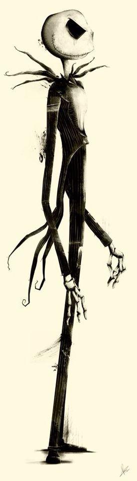 Jack Skellington - The Nightmare Before Christmas - Tim Burton