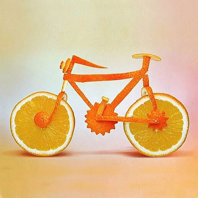 :tangerine: WE :heart:ORANGES & CYCLING :tangerine: Just like orange gingershots, we use only 100% organic orange juice and ginger in one perfect little bottle! It's natures wellness shot :tangerine: :camera: @stripwaxing #gingershots #wellness #oranges #