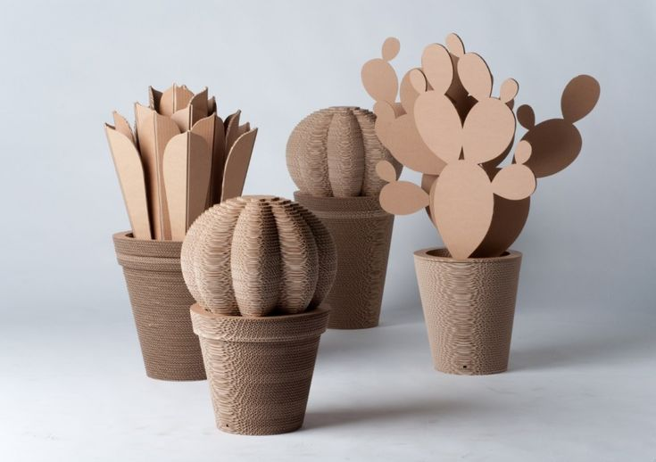 Cardboard cactus - I must have some of these