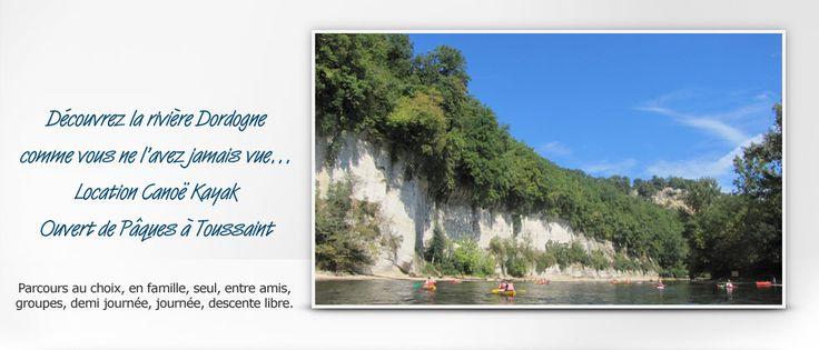 Canoë sur la Dordogne – Périgord Aventure et Loisirs