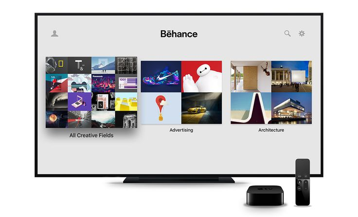 Behance for Apple TV on Behance