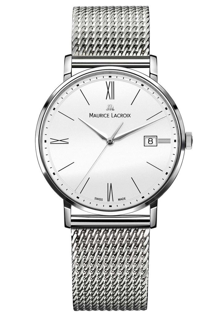 Maurice Lacroix Watch Eliros Date #basel-15 #bezel-fixed #bracelet-strap-steel #brand-maurice-lacroix #case-material-steel #case-width-38mm #date-yes #delivery-timescale-call-us #dial-colour-white #gender-mens #luxury #movement-quartz-battery #new-product-yes #official-stockist-for-maurice-lacroix-watches #packaging-maurice-lacroix-watch-packaging #style-dress #subcat-eliros #supplier-model-no-el1087-ss002-111 #warranty-maurice-lacroix-official-2-year-guarantee #water-resistant-50m