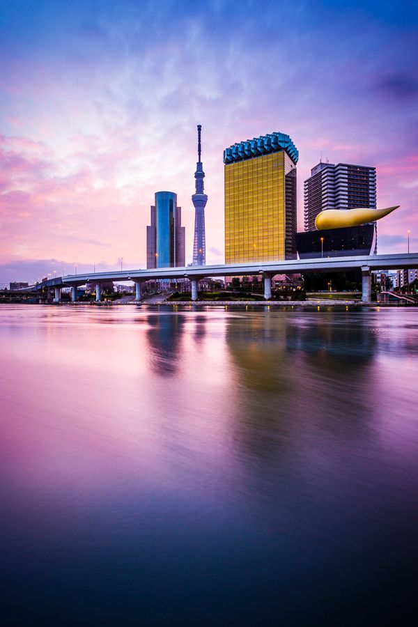 Sumida River #Asakusa #Tokyo #JapanWeek Subscribe today to our newsletter for a chance to win a trip to Japan http://japanweek.us/news  Like us on Facebook: https://www.facebook.com/JapanWeekNY