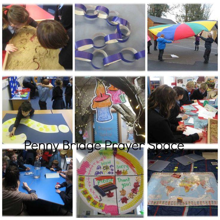 Penny Bridge CofE Academy Prayer Space in School Day, February 2015