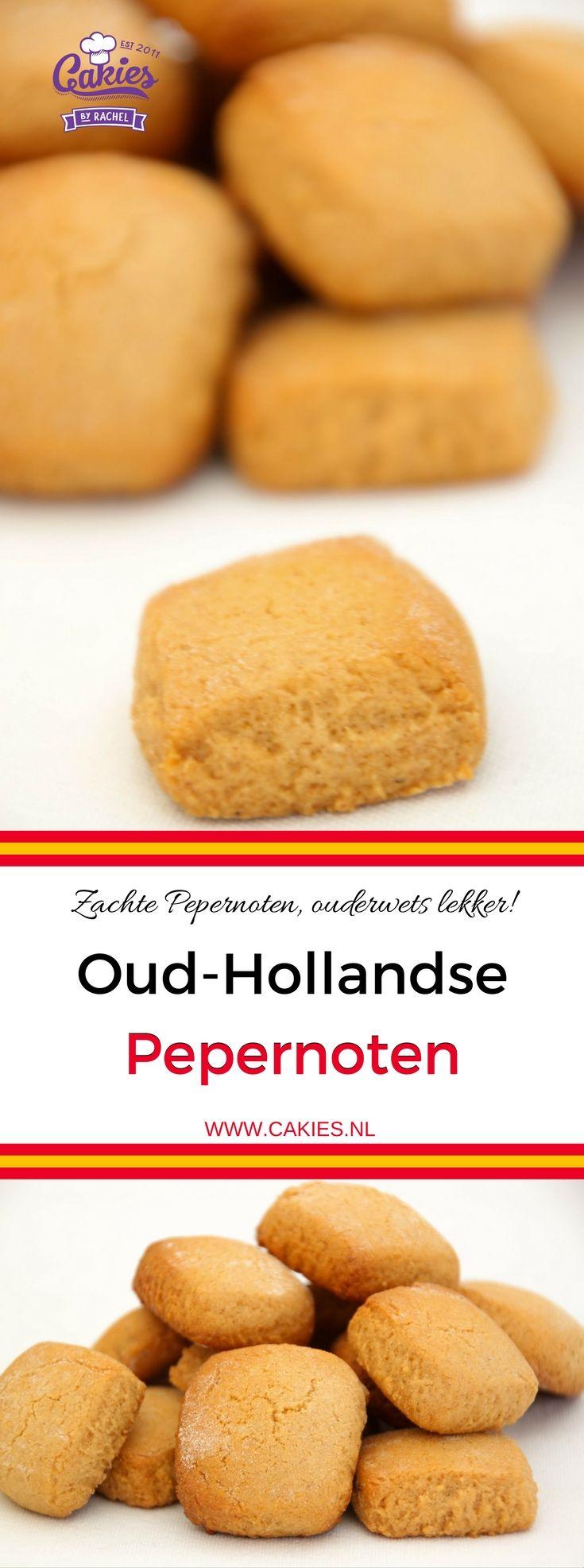 Deze oud-hollandse pepernoten (bonken) zijn de zachte en taai taai achtig. Een lekker en simpel Sinterklaasrecept.