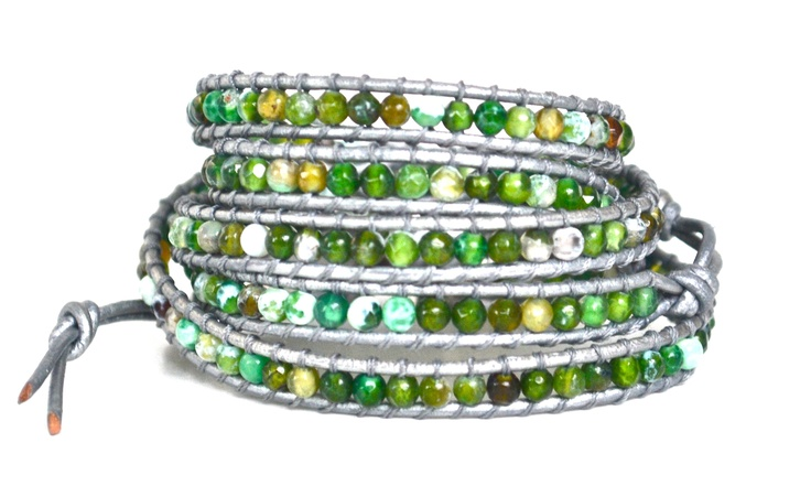 Wrap Bracelet Green http://filosophyonline.com