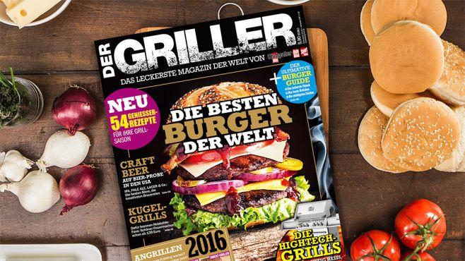 DER GRILLER: Die neue Ausgabe ist da!