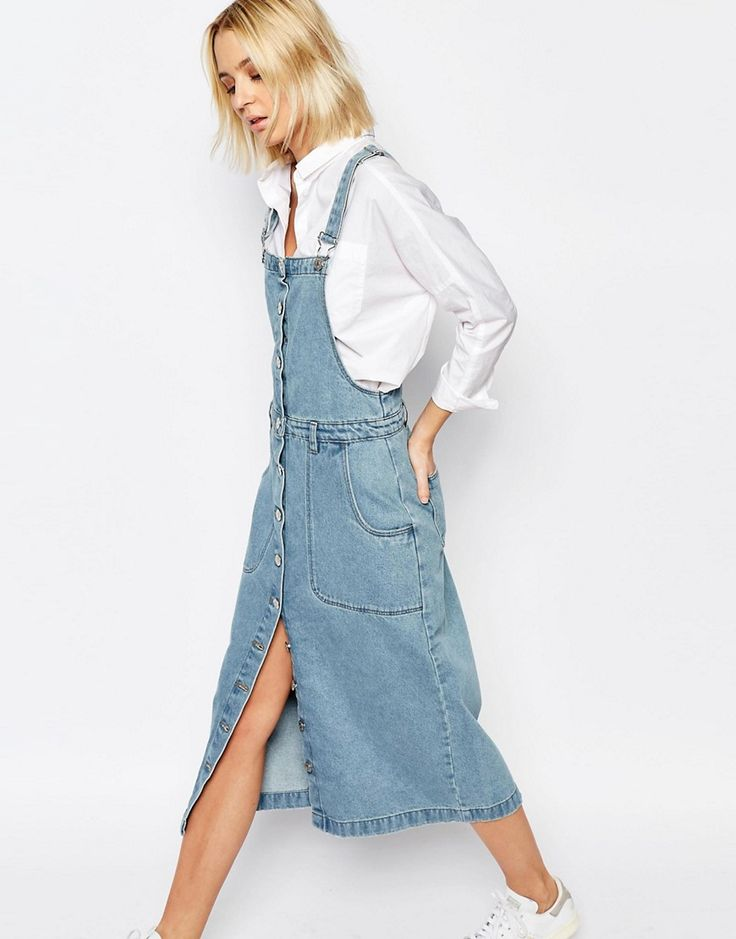 Best 25+ Denim dungaree dress ideas on Pinterest | Dungaree dress Overalls and Holiday outfits