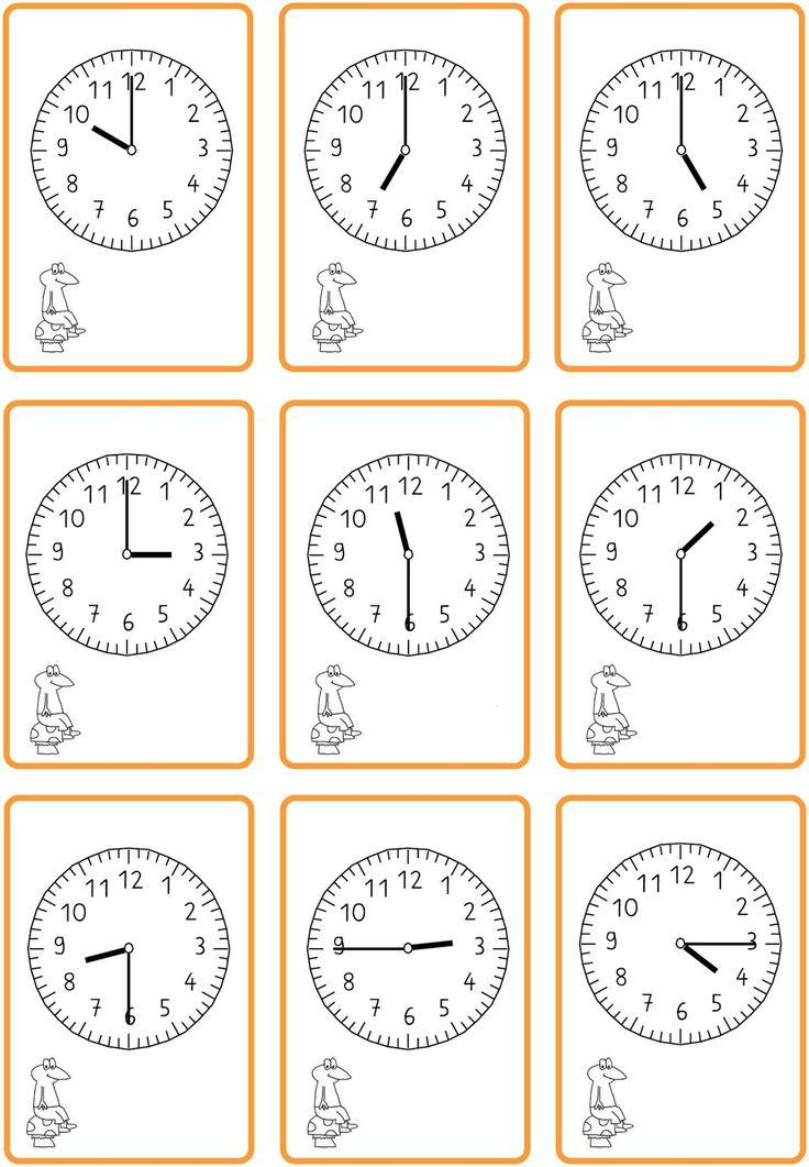 32 best Uhrzeit, Datum images on Pinterest | Elementary schools ...