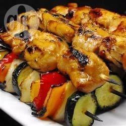 Фото рецепта: Шашлык из курицы с медом