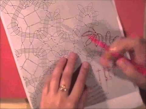 Видео-уроки: Читаем схемы. Брюггские кружева. Часть 2. Снегурочка и Снежинка - Ярмарка Мастеров - ручная работа, handmade