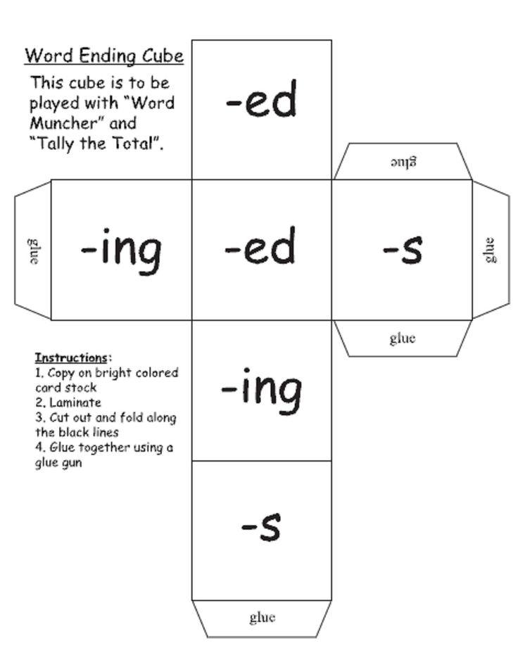Jessie's Resources: Word endings & Plurals
