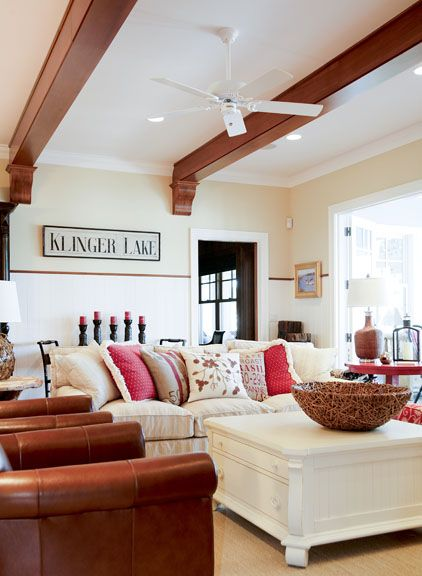 25 Best Wainscoting And Beadboard Images On Pinterest For The Home Living Room And