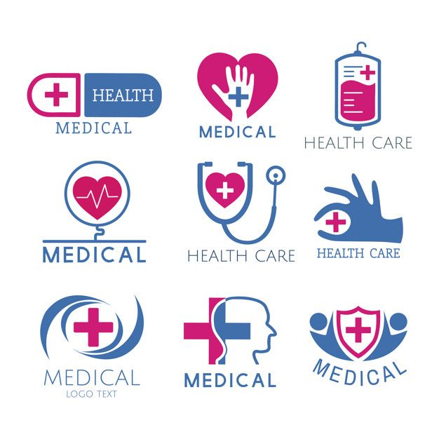 Download Medical Service Logos Vector Set For Free Di 2020