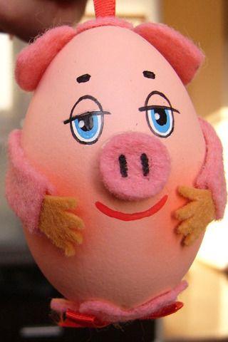 Cute Pig Egg