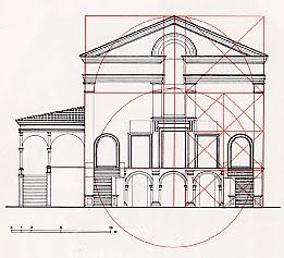 Leon Battista Alberti - design for church of San Sebastiano, Mantova (Mantua…