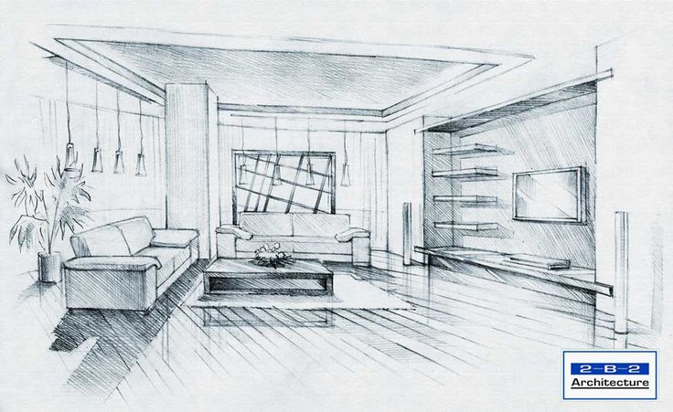 architectural interior bedroom sketches - google search | house