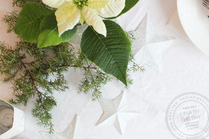 DIY papperstjärnor av tapeter