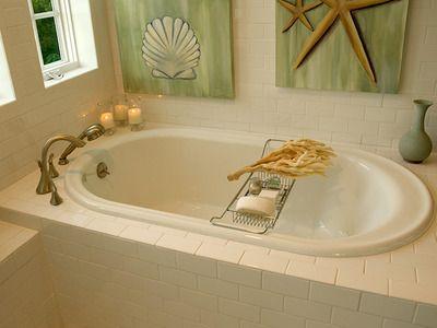 Decorating around a Garden Tub | Garden Decorating Ideas on Bath Shower  Just For Beauty And - 21 Best 3rd Bathroom Images On Pinterest Garden Tub, Bathroom