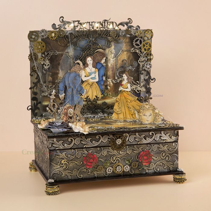 Disney Beauty and The Beast project by Melanie Heaton.