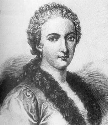 Maria Gaetana Agnesi was the first woman to write a mathematics handbook, which was also the first book to discuss both differential and integral calculus. She has a mathematical curve, an asteroid and a crater on Venus named in her honor.