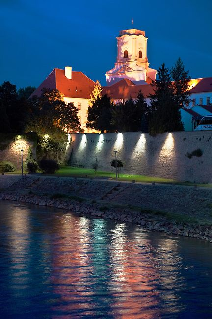 Bishop's Castle and Episcopal Palace, Chapter Hill, Gyor, Hungary
