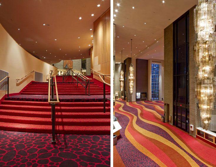 Phoenix Symphony Hall AZ PRODUCTS Custom CYP Carpet DESIGN FIRM Architectural Resource Team