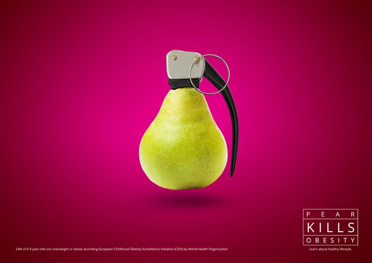 Healthy Lifestyle Anti-obesity Creative Campaign