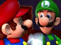 #Mario is tired of #Luigi 's success following the #YearofLuigi and puts him back in his place.  More Mario and Luigi at http://www.superluigibros.com
