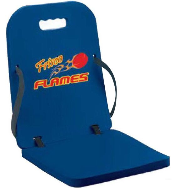 Let the other team's fans squirm in their hard, cold stadium seats as you  sit comfortable in these seat cushions. This folding cushion is just ... - 31 Best Printed Promotional Stadium Cushions Images On Pinterest
