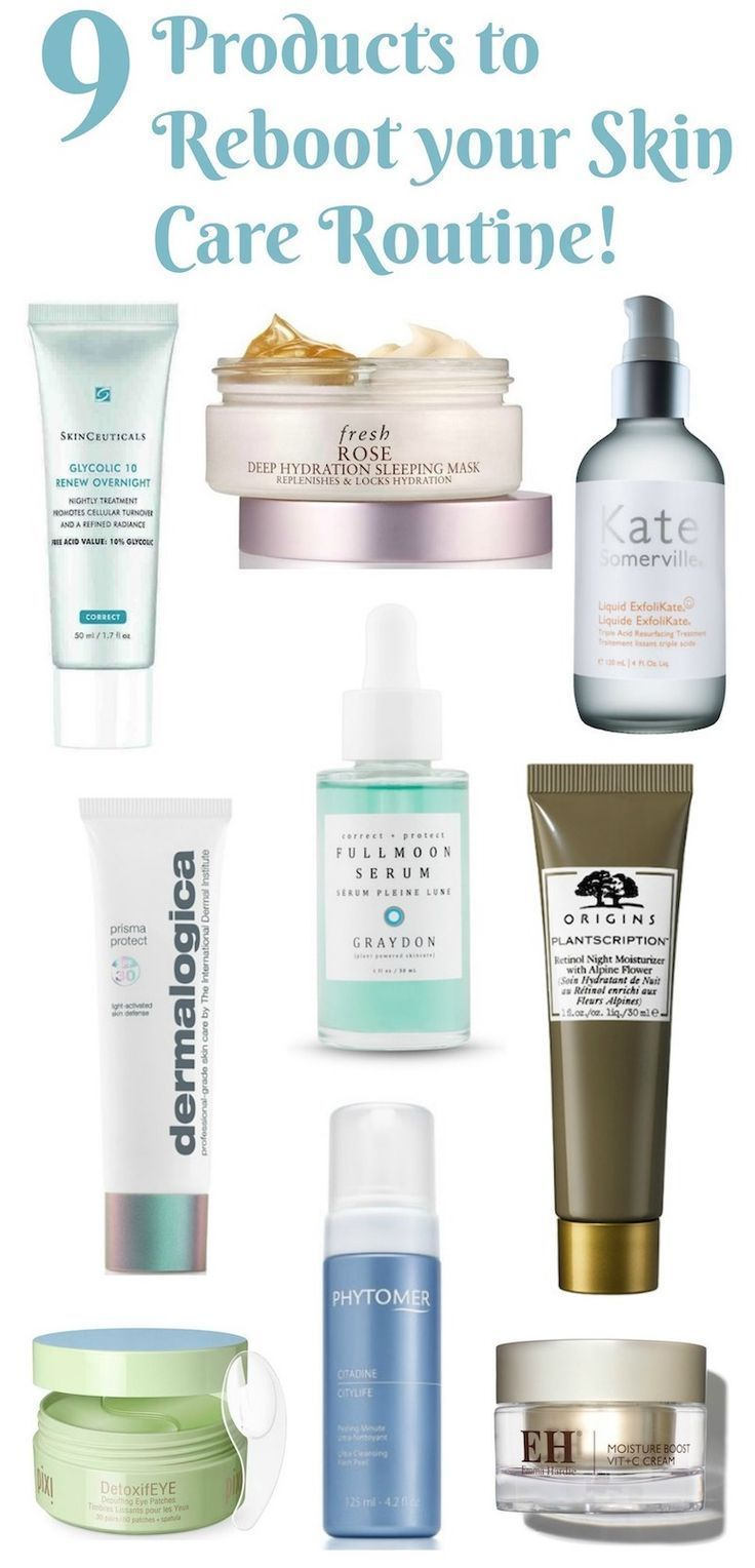 9 New Products To Reboot Your Skin Care Routine Face Skin Care Skin Care Routine Skin Care