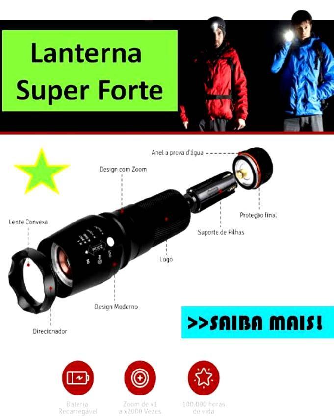 Tenha Uma Lanterna Super Forte Uma Das Lanternas Mais Potentes