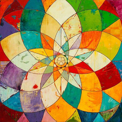 17 best ideas about Geometric Painting on Pinterest | Diy canvas ...
