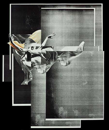 Neat collage takes photos, cuts it and mixes it up to create wonderful art.